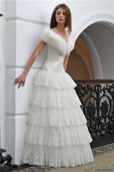Свадебное платье MS 8910 с красным поясом
