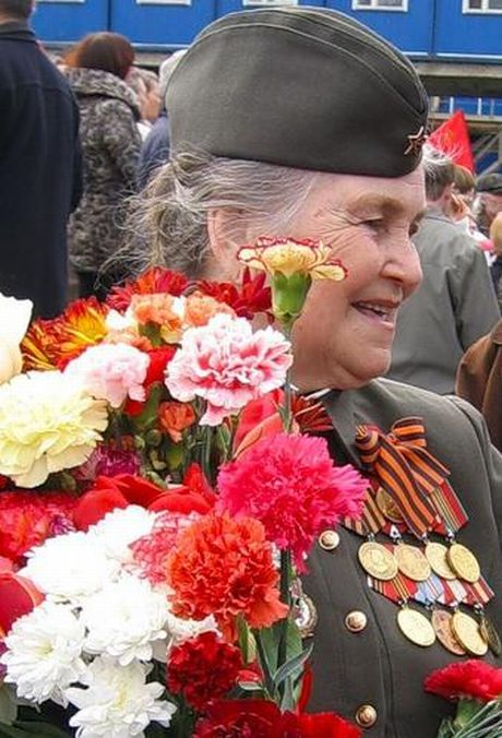 Фото поздравление ветеранов вов