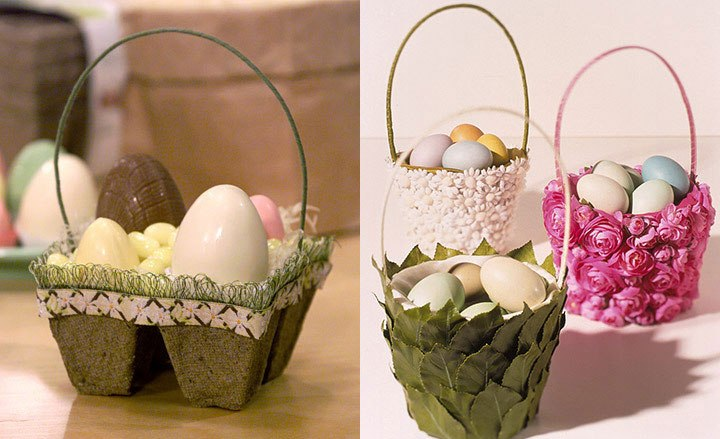 Как сделать декоративную корзинку