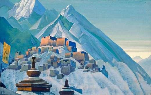 Тибет гималаи 1933 н к рерих